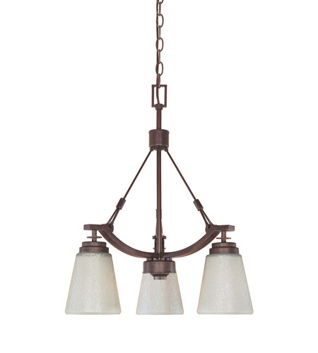 Designers Fountain Harlow 3 Light Chandelier in Tuscana 81683-TU photo
