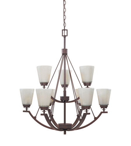 Designers Fountain Harlow 9 Light Chandelier in Tuscana 81689-TU photo