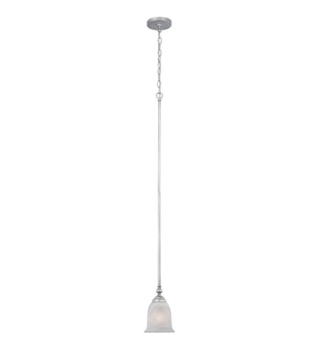 Designers Fountain Montague 1 Light Mini Pendant in Matte Pewter 81730-MTP photo