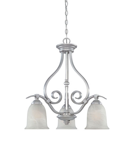 Designers Fountain Montague 3 Light Chandelier in Matte Pewter 81783-MTP photo