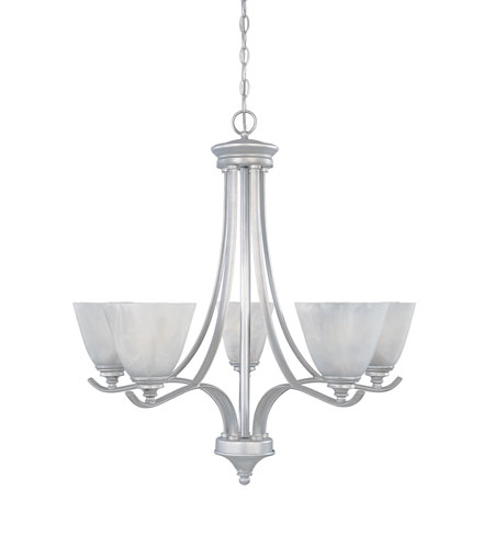 Designers Fountain Bella Vista 5 Light Chandelier in Matte Pewter 81985-MTP photo