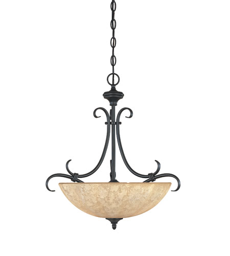Designers Fountain Vicente 3 Light Pendant in Burnished Bronze 82731-BNB