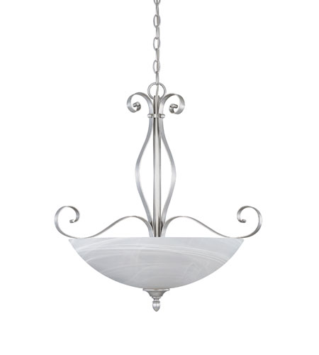 Designers Fountain Del Amo 3 Light Pendant in Matte Pewter 82831-MTP photo