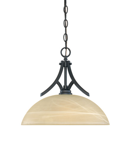 Designers Fountain Tackwood 1 Light Pendant in Burnished Bronze 82932-BNB photo