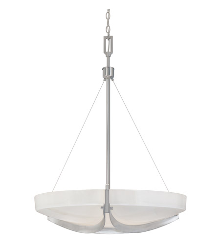 Avanti 3 Light 120 Satin Platinum Pendant Ceiling