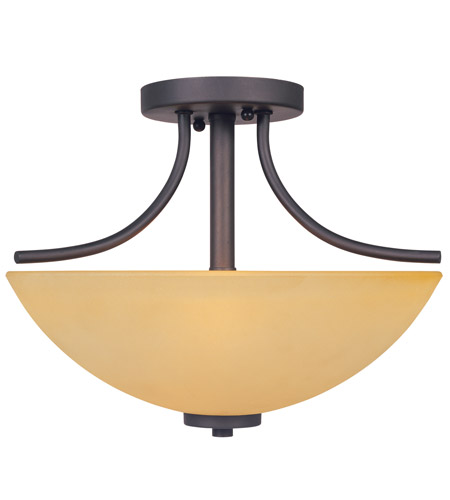 Designers Fountain Marbella 2 Light Semi-Flush in Oil Rubbed Bronze 83211-ORB photo