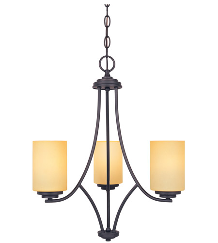 Designers Fountain Marbella 3 Light Chandelier in Oil Rubbed Bronze 83283-ORB photo