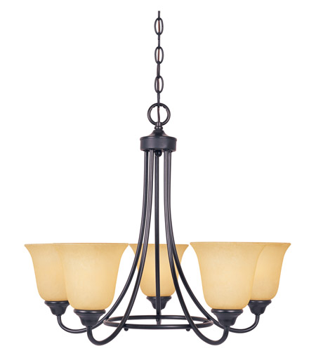 Designers Fountain Madison 5 Light Chandelier in Oil Rubbed Bronze 83385-ORB photo