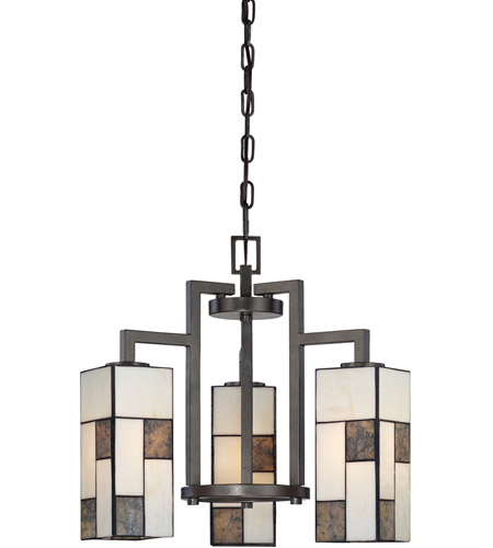 Designers Fountain 84183-CHA Bradley 3 Light 18 inch Charcoal Chandelier Ceiling Light photo