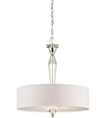 Designers Fountain Palatial 1 Light Pendant in Chrome 84231-CH photo