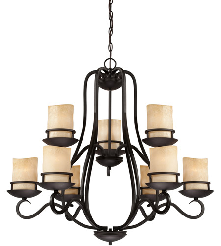 Designers fountain 84789 ni lauderhill 9 light 32 inch natural iron designers fountain 84789 ni lauderhill 9 light 32 inch natural iron chandelier ceiling light mozeypictures Gallery