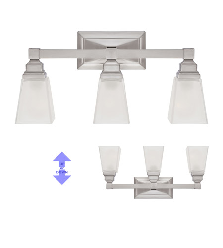 Designers Fountain 84903-SN Trenton 3 Light 21 inch Satin Nickel Bath Bar Wall Light 84903-SN_ALT.jpg