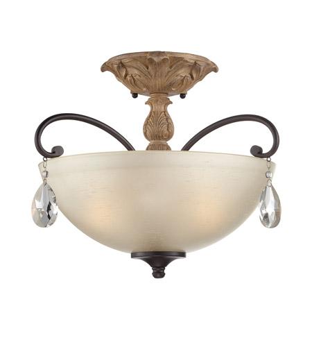 cheap for discount 4cb5e 57fe8 Bella Maison 3 Light 120 Distressed Ash Semi-Flush Ceiling Light