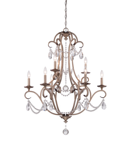Designers fountain 86089 ars gala 9 light 32 inch argent silver designers fountain 86089 ars gala 9 light 32 inch argent silver chandelier ceiling light aloadofball Images