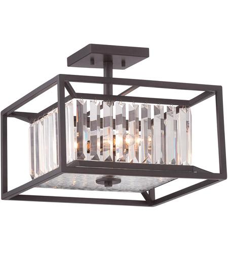 designers fountain 87411vb linares 3 light 120 vintage bronze semiflush ceiling light