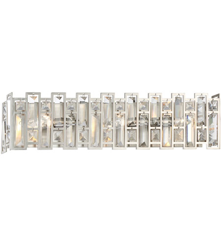 Designers Fountain 88203-SP West 65th 3 Light 23 inch Satin Platinum Vanity Wall Light