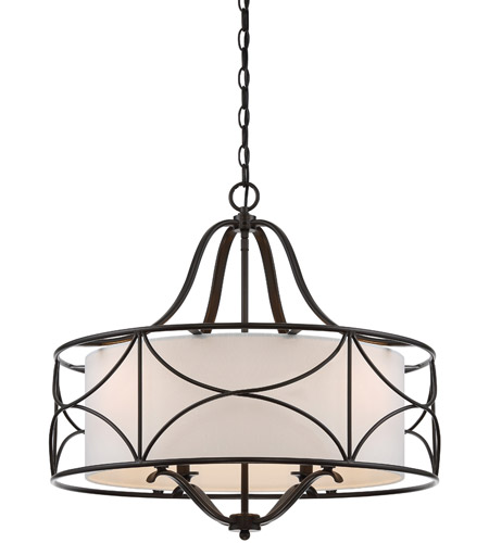 Designers Fountain 88684 Orb Avara 4 Light 24 Inch Oil Rubbed Bronze Chandelier Ceiling