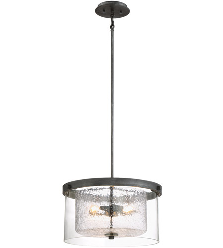 Designers fountain 89111 wp cazadero 3 light weathered pewter designers fountain 89111 wp cazadero 3 light weathered pewter pendant ceiling light aloadofball Gallery