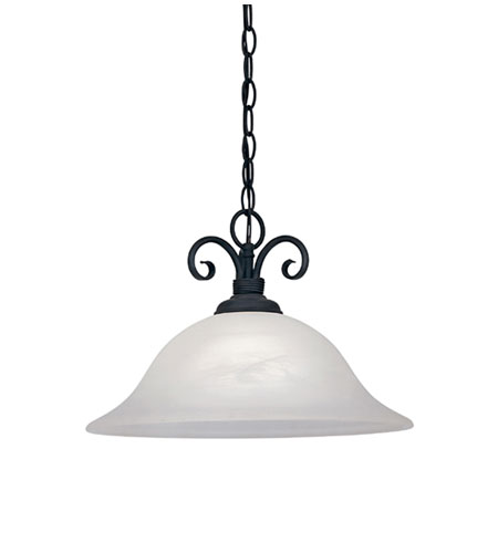 Designers Fountain Vista 1 Light Pendant in Natural Iron 9077-NI