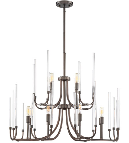 Designers Fountain Satin Copper Bronze Chandeliers