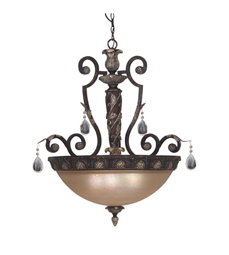 Designers Fountain Delphi 4 Light Pendant in Sierra 9214-SE photo