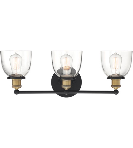 Designers Fountain 92603-VB Bryson 3 Light 24 inch Vintage Bronze Vanity Light Wall Light photo