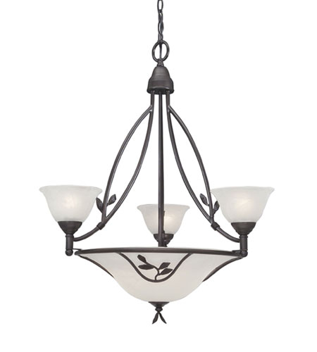 Designers Fountain Garland 6 Light Chandelier in Oil Rubbed Bronze 9284-ORB photo