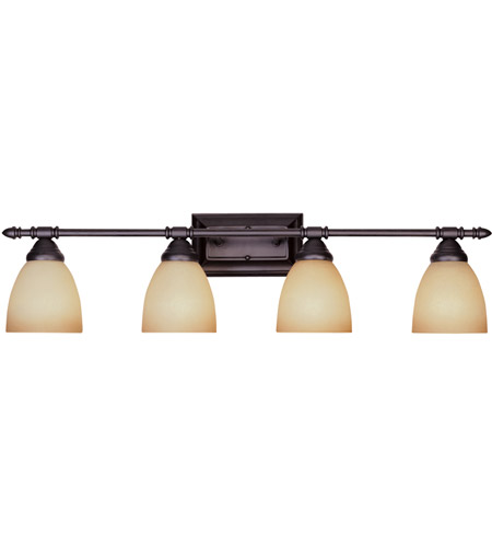 Designers Fountain Apollo 4 Light Bath Bar in Oil Rubbed Bronze 94004-ORB photo