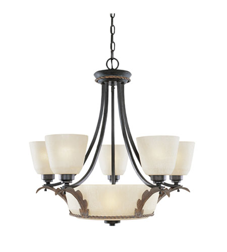 Designers Fountain Ambrosia 7 Light Chandelier in Riviera 95586-RIV photo