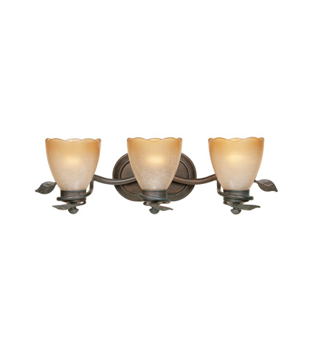 Designers Fountain Timberline 3 Light Bath Bar in Old Bronze 95603-OB photo
