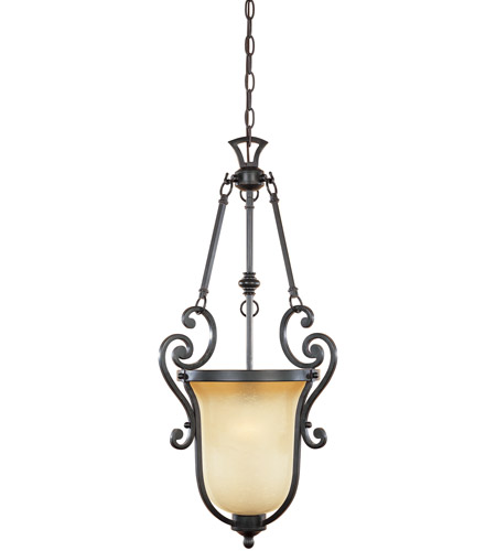 Designers Fountain 96151-NI Barcelona 1 Light 14 inch Natural Iron Foyer Ceiling Light photo