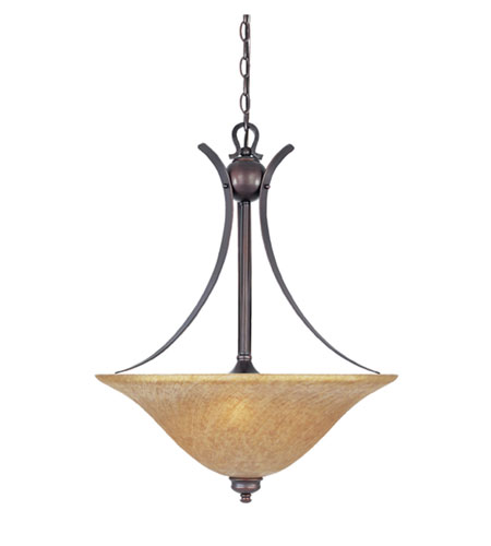Designers Fountain Torrance 3 Light Pendant in Tuscana 96431-TU
