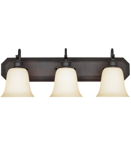 Designers Fountain Montego 3 Light Bath Bar in Oil Rubbed Bronze 96903-ORB photo