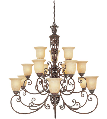 Designers Fountain 975815-BU Amherst 15 Light 42 inch Burnt Umber Chandelier Ceiling Light photo