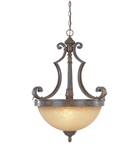 Designers Fountain Grand Palais 3 Light Pendant in Venetian Bronze-Gold 97631-VBG photo