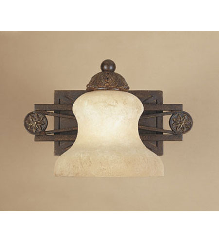 Designers Fountain Carlisle 1 Light Wall Sconce in Venetian Bronze-Gold 97801-VBG photo