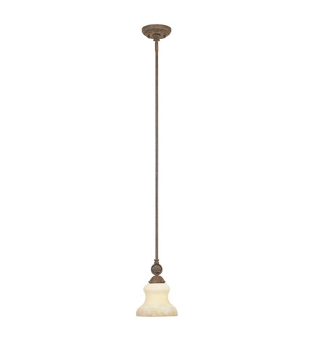 Designers Fountain Carlisle 1 Light Mini Pendant in Venetian Bronze-Gold 97830-VBG photo