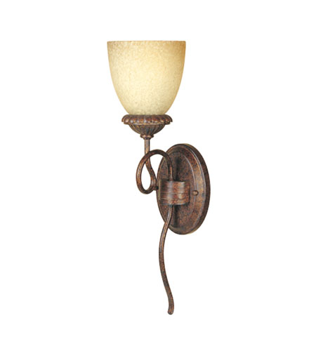Designers Fountain Belaire 1 Light Wall Sconce in Aged Umber Bronze 99301-AUB photo