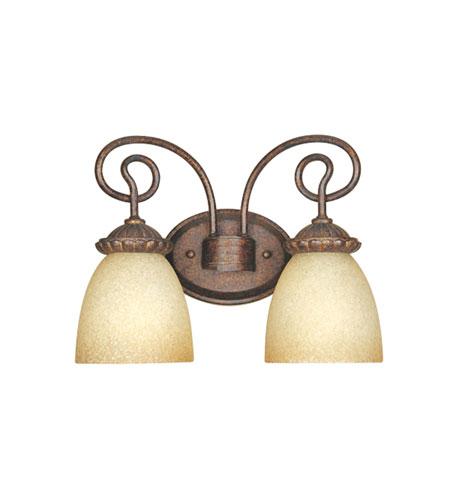 Designers Fountain Belaire 2 Light Bath Bar in Aged Umber Bronze 99302-AUB photo