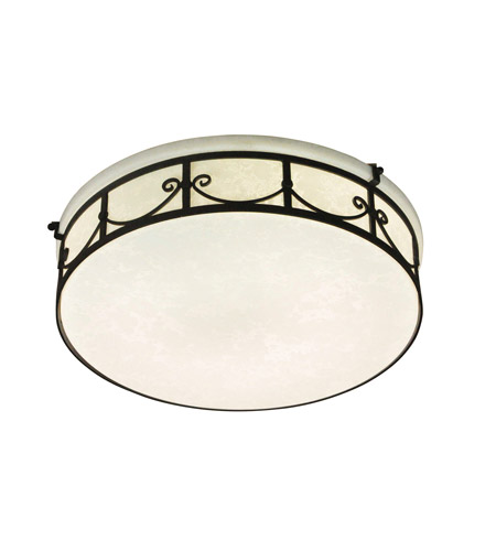 Designers Fountain Round Fluorescent 2 Light Flushmount in Oil Rubbed Bronze ES1246-ORB photo