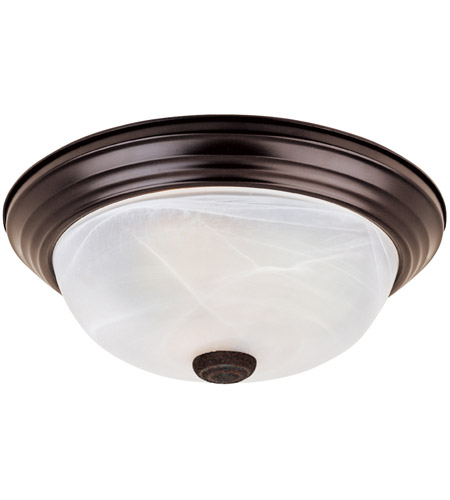 Designers Fountain ES1257M-ORB-AL Lunar 2 Light 13 inch Oil Rubbed Bronze Flushmount Ceiling Light photo