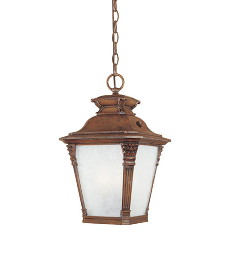 Designers Fountain Lancaster 1 Light Outdoor Hanging Lantern in Aged Venetian Walnut ES20724-AVW photo