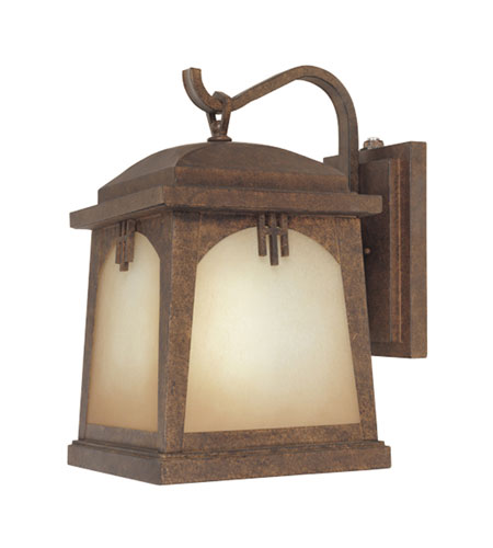 Designers Fountain Casa Grande 1 Light Outdoor Wall Lantern in Venetian Bronze ES21031-VBR photo