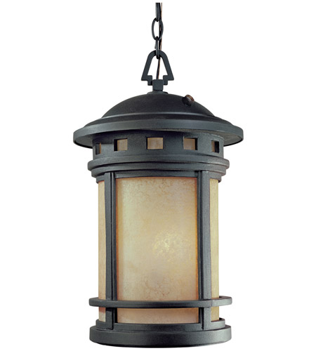 Designers Fountain ES2394-AM-ORB Sedona 1 Light 11 inch Oil Rubbed Bronze Outdoor Hanging Lantern photo