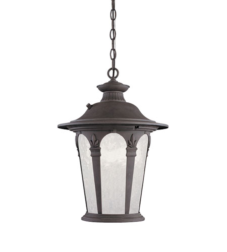 Designers Fountain Quintessence 1 Light Outdoor Hanging Lantern in Autumn Gold ES2844-AG photo