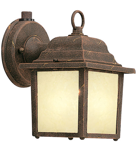 Designers Fountain Signature Cast Aluminum 1 Light Outdoor Wall Lantern in Autumn Gold ES2861-AM-AG photo
