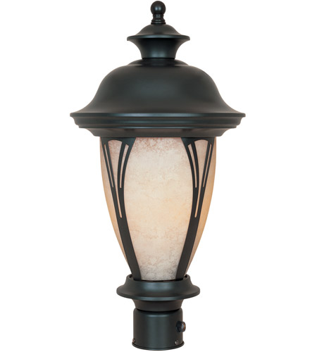 Designers Fountain FL30536-AM-BZ Westchester 1 Light 21 inch Bronze Outdoor Post Lantern photo
