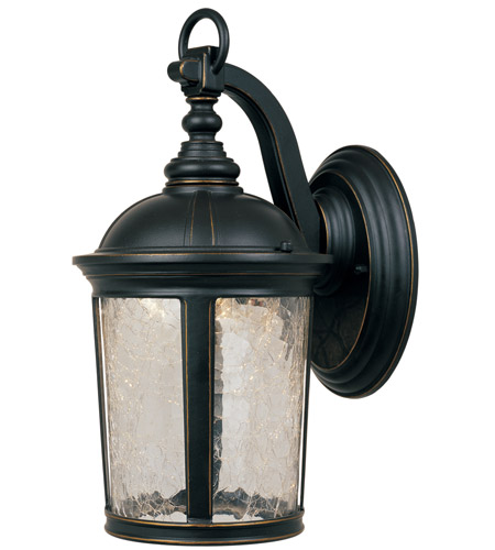 Designers Fountain LED21321-ABP Winston LED 14 inch Aged Bronze Patina Outdoor Wall Lantern