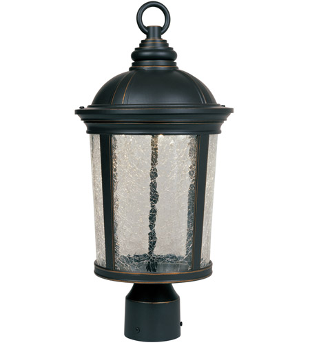 Designers Fountain Winston Post Lantern in Aged Bronze Patina LED21346-ABP photo