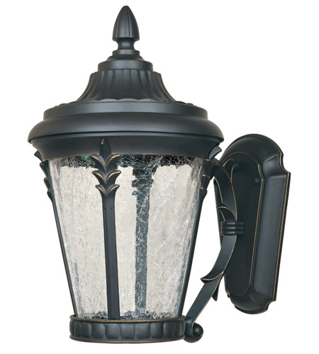 Designers Fountain Hillcrest Outdoor Wall Lantern in Aged Bronze Patina LED21631-ABP photo